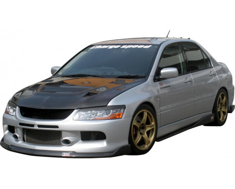 Chargespeed Front spoiler Mitsubishi Lancer EVO 9 CT9A BottomLine (FRP)