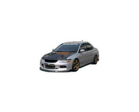 Chargespeed Front spoiler Mitsubishi Lancer EVO 9 CT9A BottomLine (FRP), Image 2