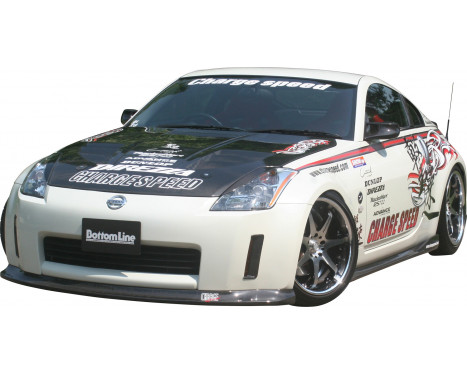 Chargespeed Front spoiler Nissan 350Z Z33 BottomLine (FRP), Image 2