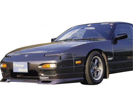 Chargespeed Front spoiler Nissan RPS13 180SX 2nd / 3rd Series (FRP)