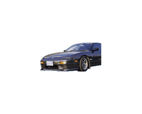 Chargespeed Front spoiler Nissan RPS13 180SX 2nd / 3rd Series (FRP), Image 2