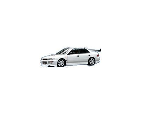 Chargespeed Front spoiler Subaru Impreza GC8 Version 1-4
