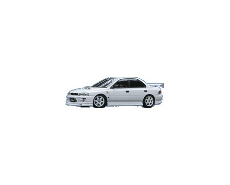 Chargespeed Front spoiler Subaru Impreza GC8 Version 5/6 Type1