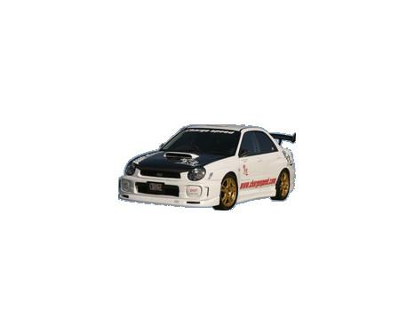 Chargespeed Front spoiler Subaru Impreza GD # (A / B)