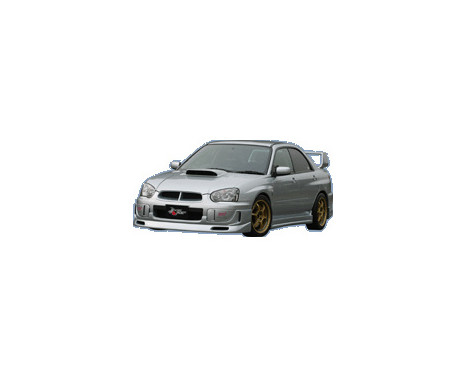 Chargespeed Front spoiler Subaru Impreza GD # (C / D / E)