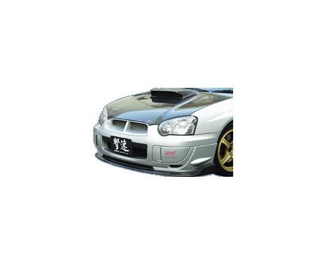 Chargespeed Front spoiler Subaru Impreza GDB BottomLine Type2 (FRP) (C / D / E?, Image 2