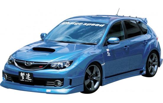 Chargespeed Front spoiler Subaru Impreza WRX STi 2008- HalfType (FRP)
