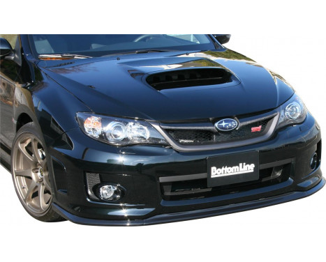 Chargespeed Front spoiler Subaru Impreza WRX STi 4/5-doors GR / GV 'Bottomline' (C-) (FRP)