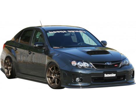 Chargespeed Front spoiler Subaru Impreza WRX STi 4/5-doors GR / GV 'Bottomline' (C-) (FRP), Image 2