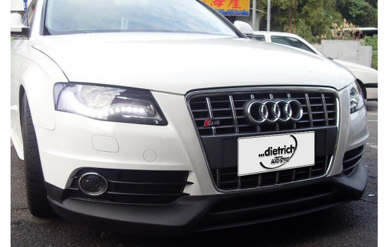 Dietrich Front spoiler Audi A4 S-Line 2008-2012 (PU)