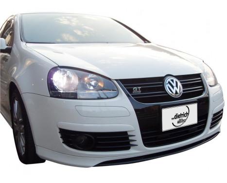 Dietrich Front spoiler Volkswagen Golf V GTi / GT 2003-2008 'V-Type' (PU)