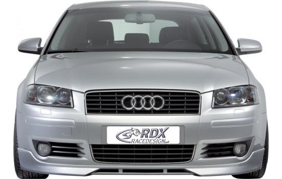 Front spoiler Audi A3 8P 3 doors 2003-2005 (ABS)