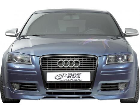 Front spoiler Audi A3 8P Sportback 04- + 3 doors 2005- (ABS)