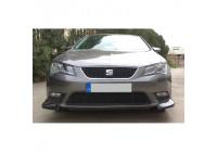Front spoiler corners (Cup Wings) Seat Leon 5F 5-doors incl. ST 2013- (ABS)
