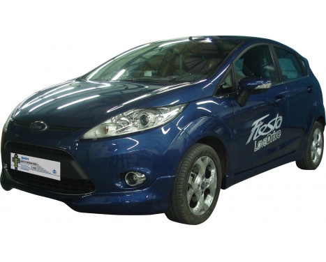 Front spoiler (Corners) Ford Fiesta VII 9 / 2008- (ABS)