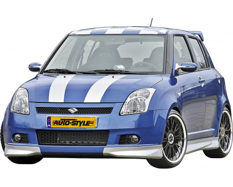 Front spoiler Corners Suzuki Swift 2005- Excl. Facelift