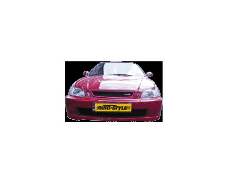 Front spoiler Honda Civic 1996-1999 'JDM Type-R Look' ABS, Image 2