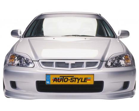 Front spoiler Honda Civic 1999-2001 'Type-R Look'