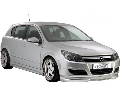 Front spoiler Opel Astra H 5 doors / Wagon -2007 Excl. GTC (ABS)