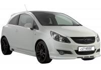 Front spoiler Opel Corsa D 2006-2011 Excl. OPC (ABS)