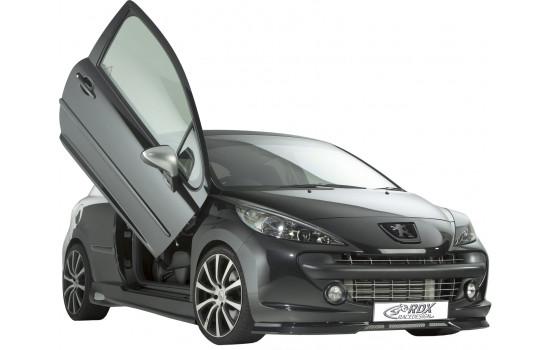 Front spoiler Peugeot 207 2006-2009 (ABS)
