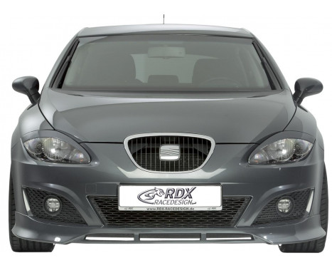 Front spoiler Seat Leon 1P 09- Excl. FR / Cupra (ABS)