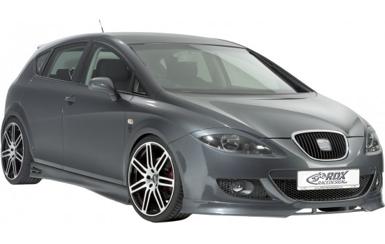 Front spoiler Seat Leon 1P 2005-2009 Excl. FR / Cupra (ABS)