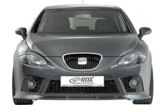 Front spoiler Seat Leon 1P FR / Cupra 2005-2009 (ABS)