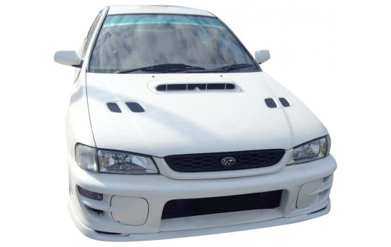 Front spoiler Subaru Impreza STi 1998-201 (PU)