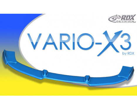 Front spoiler Vario-X3 Audi A1 S-Line Incl. Sportback (PU)