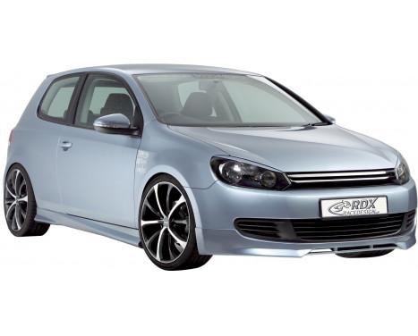 Front spoiler Volkswagen Golf VI 2008- Excl. GTi / GTD / Plus (ABS)