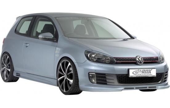 Front spoiler Volkswagen Golf VI GTi / GTD 2008- (ABS)