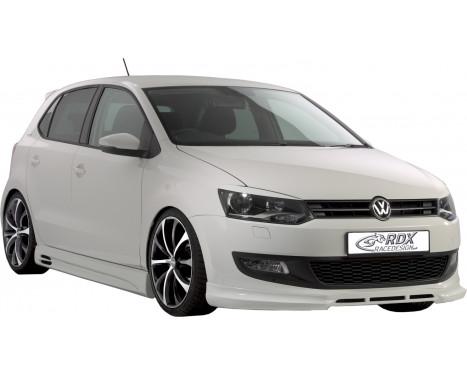 Front spoiler Volkswagen Polo 6R 2009- (ABS)