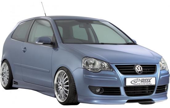 Front spoiler Volkswagen Polo 9N2 2005-2009 (ABS)