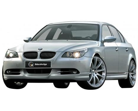 IBherdesign Front spoiler BMW 5-Series E60 / E61 7 / 2003- Sedan / Touring 'Raven'