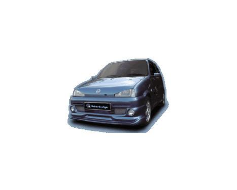 IBherdesign Front spoiler Fiat Cinquecento 'Phantom' Incl. Lamps, Image 2