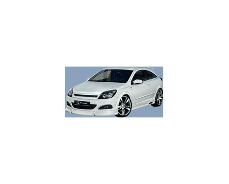 IBherdesign Front spoiler Opel Astra H 3/5-door 9 / 2003- 'Maxis', Image 3