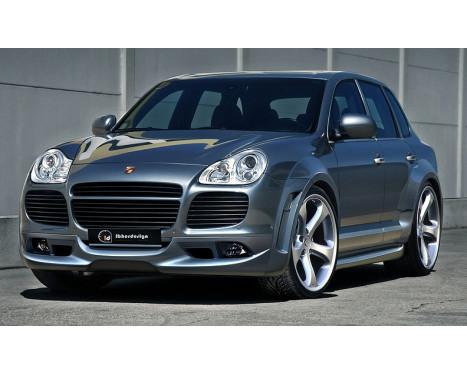 IBherdesign Front spoiler Porsche Cayenne Turbo 2002-2006 'Ventus'