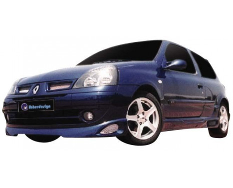 IBherdesign Front spoiler Renault Clio III 2001- 'Atmo'