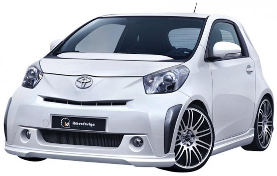 IBherdesign Front spoiler Toyota iQ 2009- 'Party'