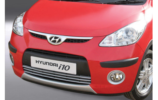 RGM Front spoiler 'Skid-Plate' Hyundai i10 2008-2011 - silver (ABS)
