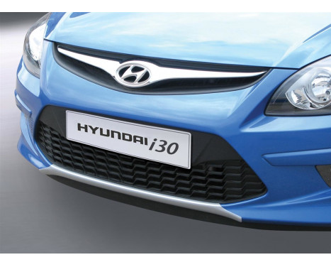 RGM Front spoiler 'Skid-Plate' Hyundai i30 HB / CW 2010-2013 - silver (ABS)