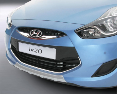 RGM Front spoiler 'Skid-Plate' Hyundai ix20 9 / 2010- - silver (ABS)