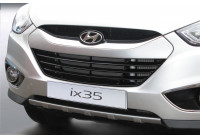 RGM Front spoiler 'Skid-Plate' Hyundai ix35 3 / 2010- - silver (ABS)