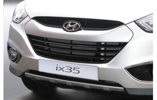 RGM Front spoiler 'Skid-Plate' Hyundai ix35 3 / 2010- - silver (ABS)