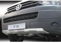 RGM Front spoiler 'Skid-Plate' Volkswagen Transporter T5 2003-2015 - Silver (ABS)