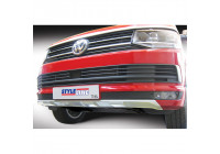 RGM Front spoiler 'Skid-Plate' Volkswagen Transporter T6 2015- Silver