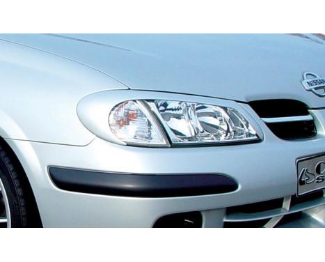 Carcept Headlight Spoilers Nissan Almera 1999-