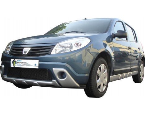 Foglight Covers Dacia Sandero 2008- (ABS)