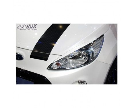 Headlight spoiler Ford KA 2008- (ABS)